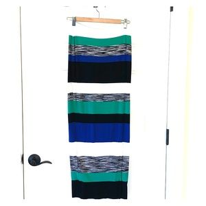 Multi colored skirt by Anthropologie